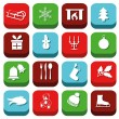 Christmas icons — Stock Vector #30761671