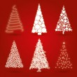 Christmas trees — Stock Vector #31077427