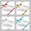 Merry christmas cards — Stock Vector #31077435