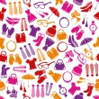 Fashion seamless pattern — Vettoriali Stock