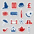 England stickers — Stock Vector
