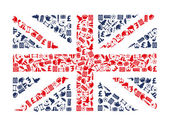 England icons — Stock Vector