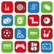 Stock Vector: Game icons