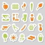 Garden stickers — Stock Vector #42743813