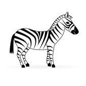 Zebra vector — Stock Vector