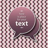 Kommunikation-blasen — Stockvektor
