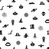 Mystic seamless pattern — Stock Vector