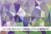 Triangual background — Stock Vector
