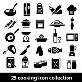 Cooking icons — Stock Vector