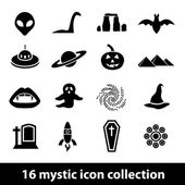 Mystic icons — Stock Vector