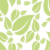Mint leaf seamless pattern — Stock Vector