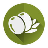 Olive icon — Stock Vector