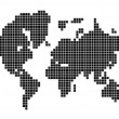 Map of world — Stock Vector #7591343