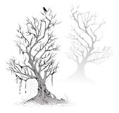 Dead trees — Stock Vector