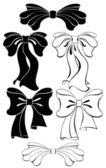 Stylized bow — Stock vektor