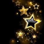 Shiny gold star — Stock Vector #41463259