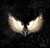 Light wings — Stock Vector