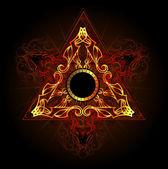 Fire symbol — Stock Vector