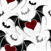 Seamless on Halloween — Vettoriale Stock