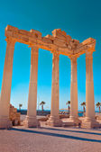 Ruins of Temple of Apollo in Side Turkey — Stock Photo