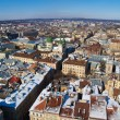 Stock Photo: Lviv from sky