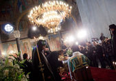 Patriarch Maxim of Bulgaria funeral — Stock Photo