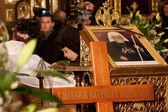 Patriarch Maxim of Bulgaria funeral cross — Stock Photo