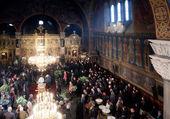 Patriarch Maxim of Bulgaria funeral — Stock Photo