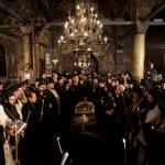 Постер, плакат: Patriarch Maxim of Bulgaria funeral liturgy