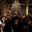 Stock Photo: Patriarch Maxim of Bulgarifuneral liturgy