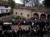 Patriarch Maxim of Bulgaria funeral tomb — Stock Photo