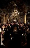 Patriarch Maxim of Bulgaria funeral liturgy — Stock Photo