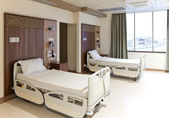 Modern empty hospital room — Stock Photo