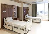 Moderne leeren krankenzimmer — Stockfoto