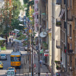 Sofia street view bulgaria — Stock Photo
