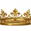 Gold crown — Stock Photo #13787170
