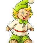 Little gnome boy — Stock Vector #23045466