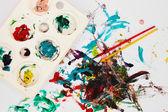 Paint elements — Stock Photo