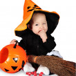 Halloween baby — Stock Photo #29967233