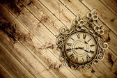 Old vintage clock — Foto de Stock