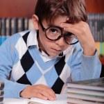 Child studying — Stock Photo #34792409