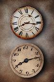 Vintage clocks — Stock Photo