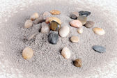 Stones and sand — Stock Photo