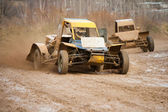 Buggy racing — Stock Photo