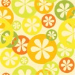 Citrus seamless vector pattern — Stock Vector
