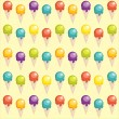 Royalty-Free Stock Vektorgrafik: Background with cartoon ice cream cups
