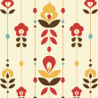 Royalty-Free Stock Immagine Vettoriale: Retro floral Pattern