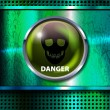 Danger sign — Stock Vector