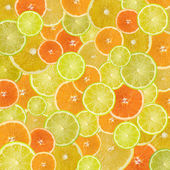 Citrus background poster large — Stock Photo