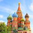 Saint Basils cathedral on Red Square in Moscow — Stock Photo #23234682